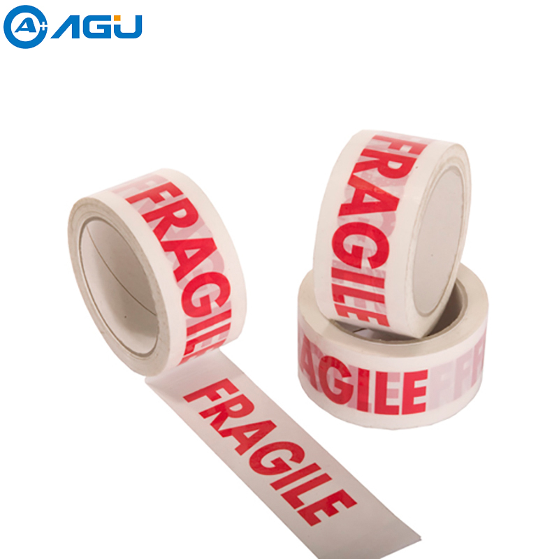 High Quality China Manufacture Custom  Warning Bopp Fragile Tape Used  For Warning And Packing