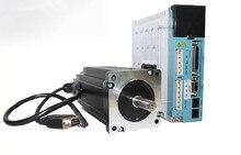 3 фазы NEMA 34 8N. m 1133ozf. в замкнутой Шагового серводвигатель driver kit СКМ 86J12156EC-1000 + 3HSS2208H