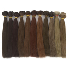 30PCS/LOT BJD Hair DIY Straight Doll 20CM Tress For Dolls