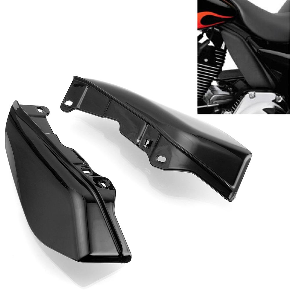 Neverland Black ABS Motorcycle Mid-Frame Air Deflectors For Harley Touring Electra Street Glide FL D35 рюкзак case logic 17 3 prevailer black prev217blk mid