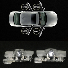 2pcs LED Laser Ghost Shadow Light for Lexus IS RC GX LS ES300H Car Styling LED Car Door Light Warning Welcome Decorative Lamp haoyuehao 2pcs car door welcome light for skoda 2009 2014 superb auto led laser projector ghost shadow warning lamp car styling