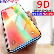 9D Protective Glass for iPhone 7 Screen Protector  8 Xr Xs Max Tempered on X 6 6s Plus