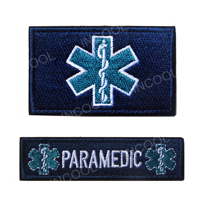 Arts,crafts & Sewing 3d Spartan Medic Tactical Embroidered Military Emt Morale Badge Apparel Sewing & Fabric
