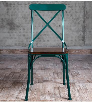 Sedie In Ferro Vintage.Vintage Vecchio Bar Ferro Sedia Da Pranzo In Vero Legno Tavoli