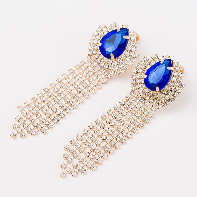 Ms long tassels design classic favorite earrings E075