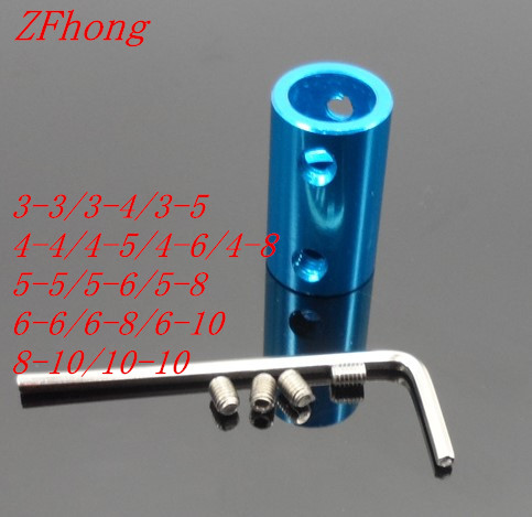 1pc Aluminum Coupling Bore 2MM 3MM 4mm 5mm 6mm 8mm 10mm 3D Printers Parts Blue Shaft Coupler Screw For Stepper Motor Accessories цена и фото