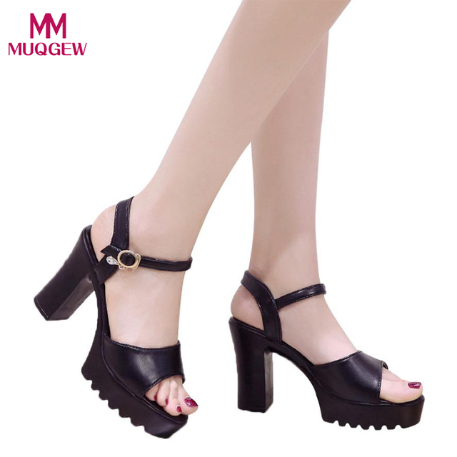 592efd5593e3f Fashion Shoes Women Sexy Fish Mouth Platform High Heels Wedge Sandals  Buckle Slope Sandals Female Wedges Banquet Shoes