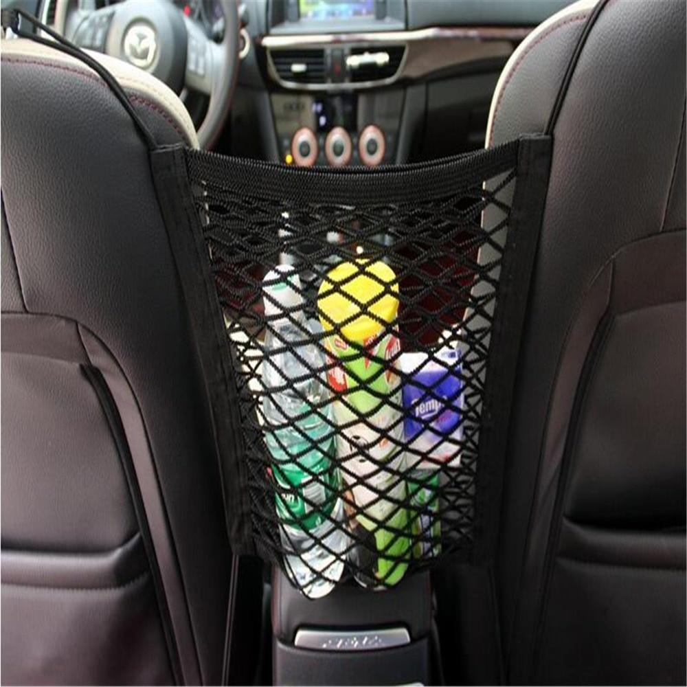 Car Organizer Seat Back Storage Mesh Net For Toyota Tacoma