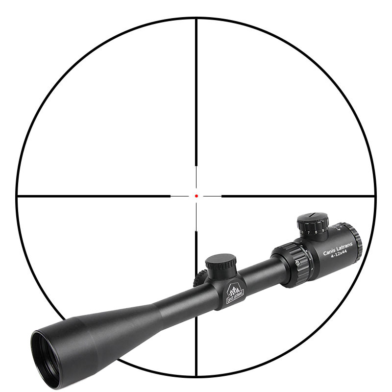 Canis Latrans Tactical 4-12x44 Hunting Rifle Scope For Shooting HS1-0336 new tactical 4 5 14 5x50 rifle scope spotting scope for hunting shooting os1 0250
