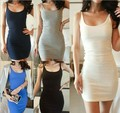 2015 New Women Summer Stratifiable Dress Sexy Women Bodycon Sundress Tank Dress Modal Slim Backless Vestidos Female Dress S-XXXL