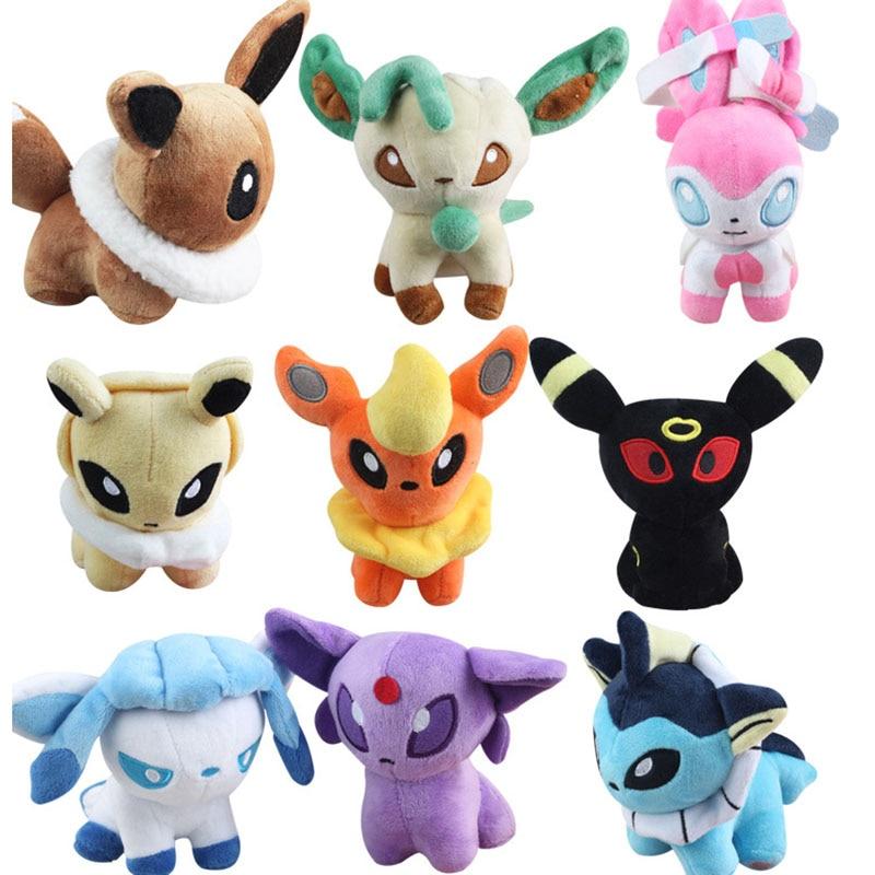 Pokemon - Peluche Evoli 20 cm - Figurine-Discount