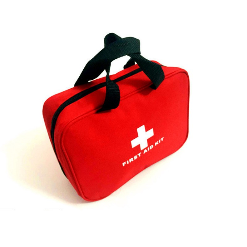 Купить с кэшбэком First Aid Kit with Compact and Lightweight Bag 210pcs of High Quality Emergency Material for Home/Car or Travels OSHA Compliant