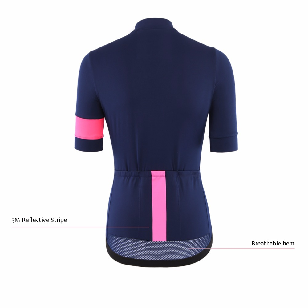 2017 SPEXCEL women navy print best quality lightweight short sleeve cycling  jersey tight fit Ropa Ciclismo bicycle top for girl-in Cycling Jerseys from  ... 0e28d9823