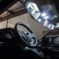 עבור הונדה crv crv Shinman 10pcs X שגיאה חינם LED הפנים חבילת ערכת אור עבור אביזרים הונדה CRV CRV 2007-2015 (3)