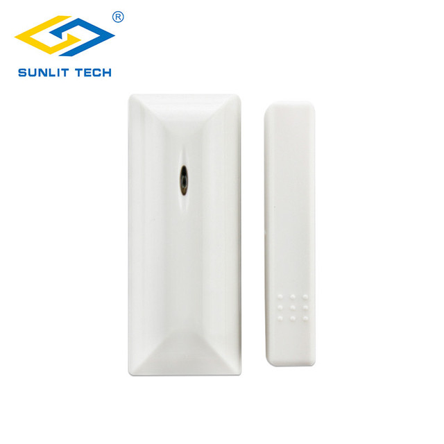 1/2/5pcs 433MHz/868MHz Wireless Door Window Sensor Alarm System For Home Security Door Magnetic Switch Detector For Our System