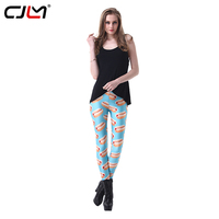 CJLM Spor Tayt Kadın Moda Sonbahar Kış 3D Sıcak Köpek Maması Digi Baskılı Sportwear Leggins Casual Seksi Punk Pantolon Dropship