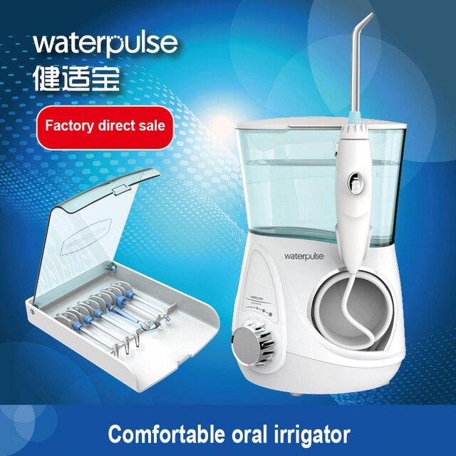 Waterpulse V600 Water Flosser Oral Irrigator Water Flosser Electric Dental Flosser Water Oral Shower UltraComfort