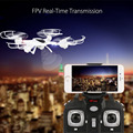 MJX X400W Headless Modo FPV RC Drone con Cámara Wifi de Vídeo En Directo 2.4 ghz 4 chanel 6 axis gyro rtf quadcopter rc toys para niños
