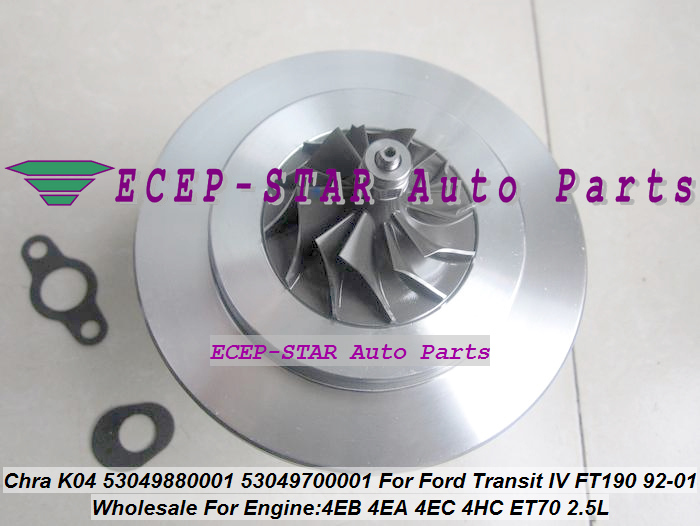 Turbo Cartridge Chra Core K04 53049880001 53049700001 For Ford Transit Ft190 For Ldv Limited Convoy 4ea 4eb 4hc Et70 2.5l 100hp An Indispensable Sovereign Remedy For Home Air Intakes