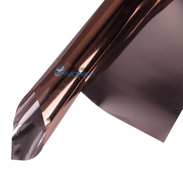 Espejo de Bronce 10% Tinte Casa Solar 5x33feet/1.52x10 m Rollo de Cobre Reflexivo