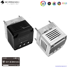 BARROW 17W Intelligent strong power pump core waterway board professional used DDC pump water tank combo RGB pump FBSP17B-T ddc3 2 pump with ice top and barrow pcb