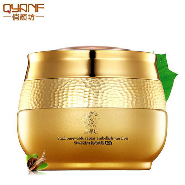 Snail Face Cream Moisturizing Moisturizer Whitening Acne Removal Acne Scars Remover Anti Wrinkle Anti-aging Firming Skin Care