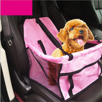 2016 new high quality Foldable Pet Dog Cat Car Crate Lookout Booster Seat Bag Carrier Travel Bed