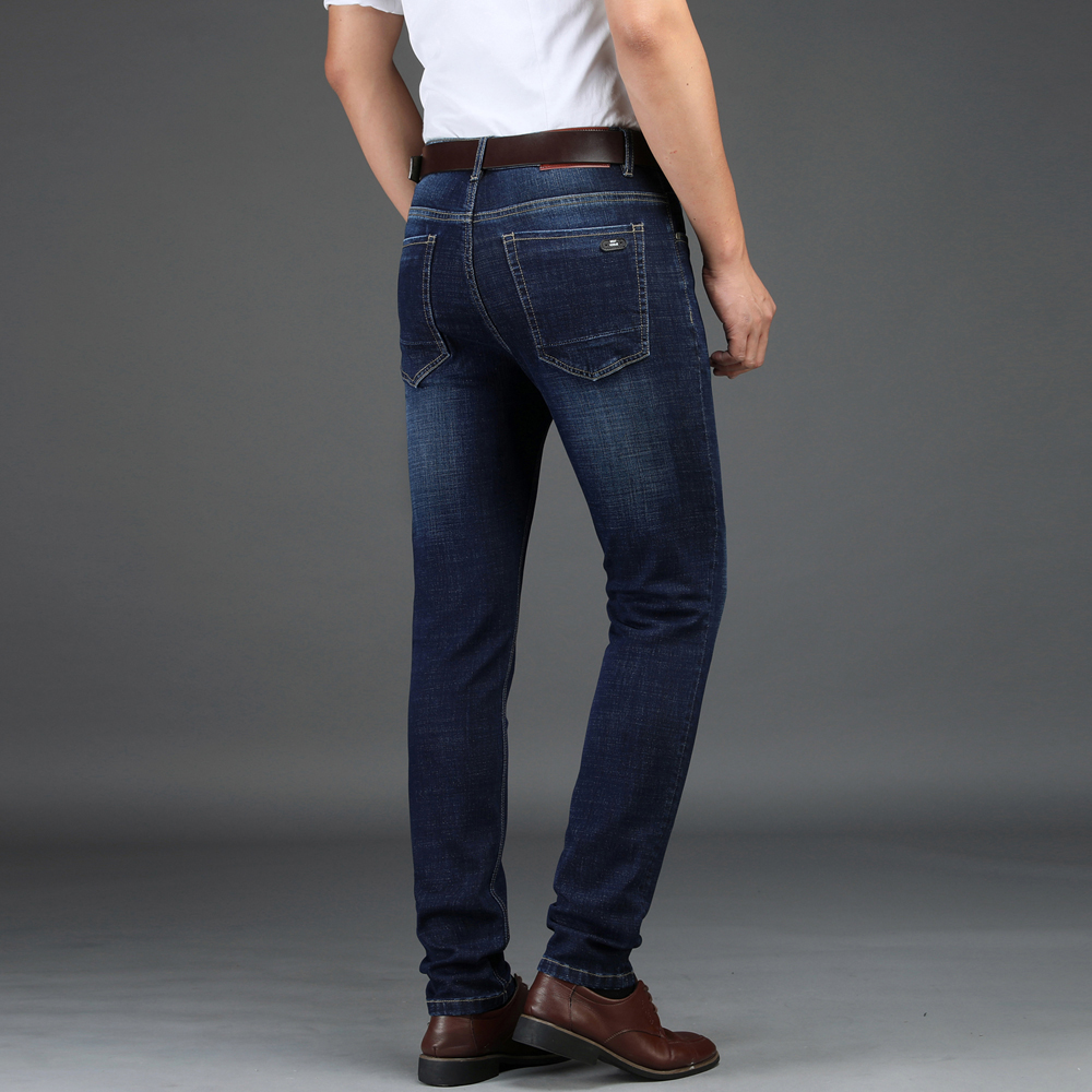 Nigrity 2018 Autumn Winter New Men S Straight Casual Jeans Fashion