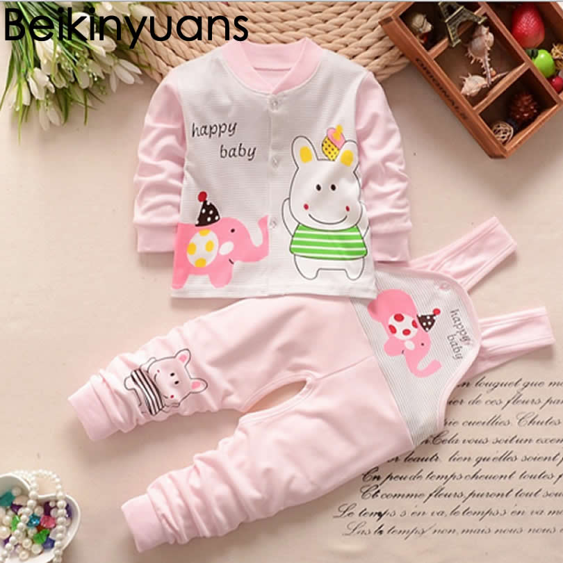Baby Girl Sets With Trousers Winter Boy Bear Clothing Long Sleeve Overalls For Baby Girls Cotton Suits Pajamas Baby Set Clothes 2016 winter boys ski suit set children s snowsuit for baby girl snow overalls ntural fur down jackets trousers clothing sets