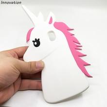 Innovation White Horse Case For Samsung Galaxy J3 2017 J330 Soft Silicone Phone Cover For Samsung J3 2017 J330F EU Version 5.0 аксессуар чехол samsung galaxy j3 2017 j330f innovation ракушка silicone green 11070