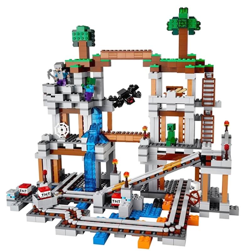 Mining Toys For Boys : Aliexpress buy building blocks pcs mine