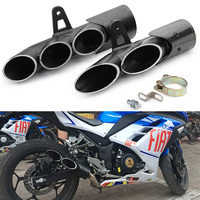 36 51mm Aluminum Alloy Universal Modified Motorcycle Exhaust Muffler Pipe for TOCE all Motorbikes 45mm for YAMAHA R6