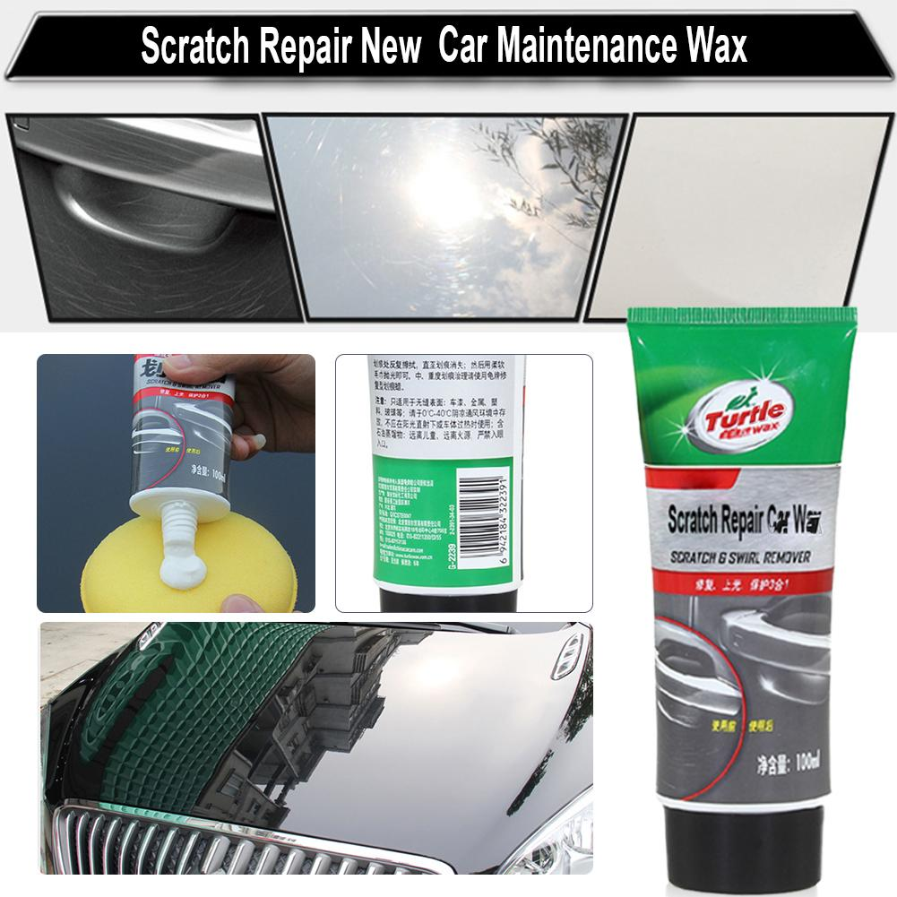 100ml New Car Maintenance Wax Turtle G-239R Car Scratch Repair Depth Repair Color Magic Car Paint Polishing Care Easy To Use