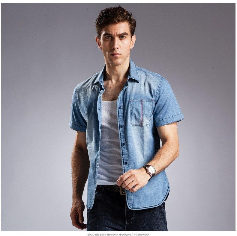 Online Get Cheap Men's Blouse Short Sleeve -Aliexpress.com ...