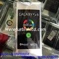 Para samsung galaxy s3 mini s4 s5 s6 s6 borda mais I9200 I9190 filme frente protetor de tela fábrica nova vinheta telefone refurbish
