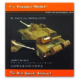 KNL HOBBY Voyager Model PE35073 Leclerc 2 main battle tank upgrade metal etching parts (T social use)