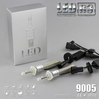 YUMSEEN Super Bright 9600lm 9005 Xenon White 6000K Car LED Headlight Conversion Kit Lamp 4800lm Bulb