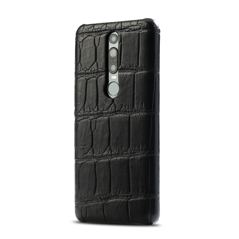 Genuine Crocodile Leather luxury cell phone case for Huawei Mate 20 30 P20 P30 Pro Lite Cover For Honor 20 Pro 10 10i v20 8x 9X - 4