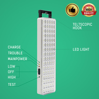 Multifunctional Outdoor Camping Light Emergency Lamp 6W Easy Carry Hook Led Portable Lights Dimmable Home Emergency Lighting