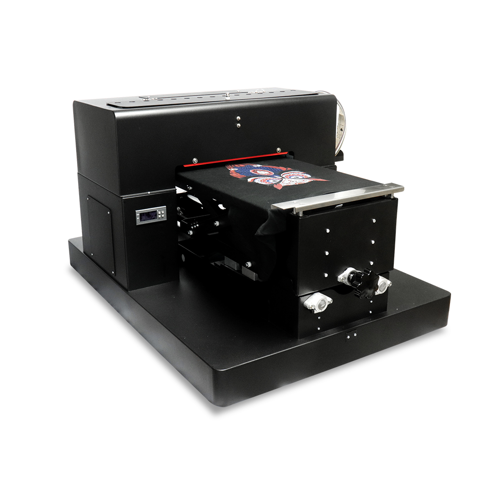 A3 Flatbed Printer DIY DTG Printing Machine for Epson R1390 Printer head  for Dark And Light T-shirt