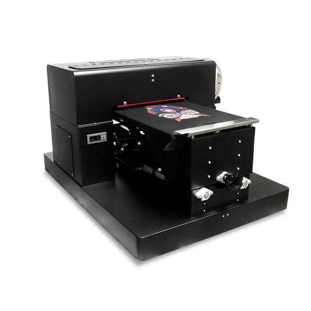A3 Flatbed Printer DIY DTG Printing Machine for Epson R1390  Printer head for Dark And Light  T-shirt PVC Card  Printing