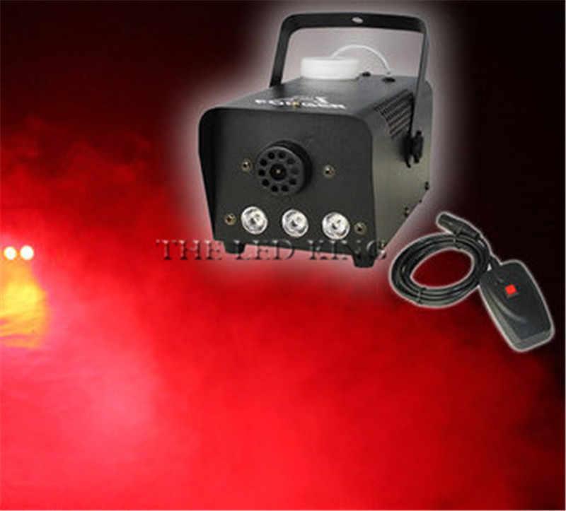 Control de alambre 1000W máquina de humo, máquina de niebla escenario profesional iluminación efecto equipo DJ