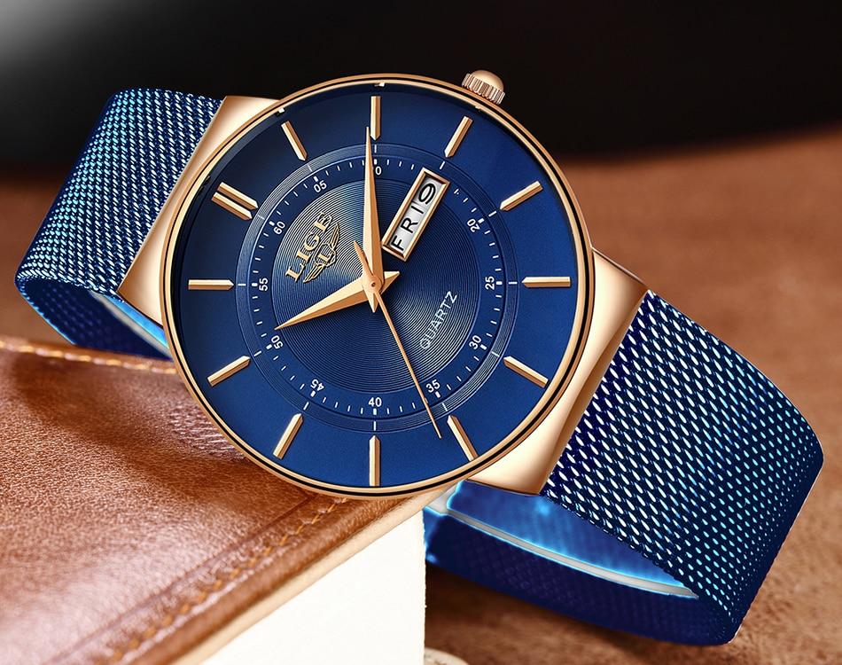 HTB1k6IKaRiE3KVjSZFMq6zQhVXaj Mens Watches LIGE Top Brand Luxury Waterproof Ultra Thin Date Clock Male Steel Strap Casual Quartz Watch Men Sports Wrist Watch