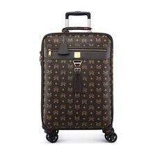 Новинка, 24 дюйма, высокая емкость, чемодан на колесиках, Спиннер для студентов, пароль, чемодан на колесиках, 16, 20 дюймов, сумка для путешествий на колесиках