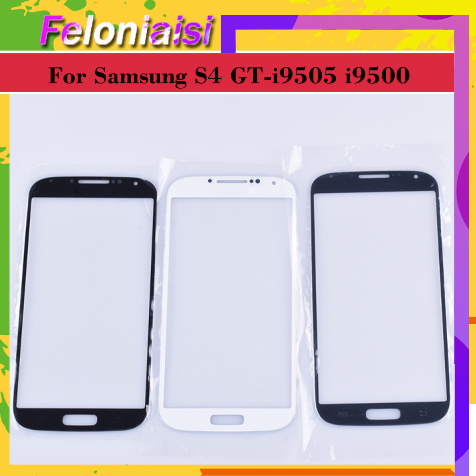 TouchScreen For Samsung Galaxy S4 GT-i9505 I9500 I9505 I9506 I9515 I337 Touch Screen Front Panel Glass Lens Outer