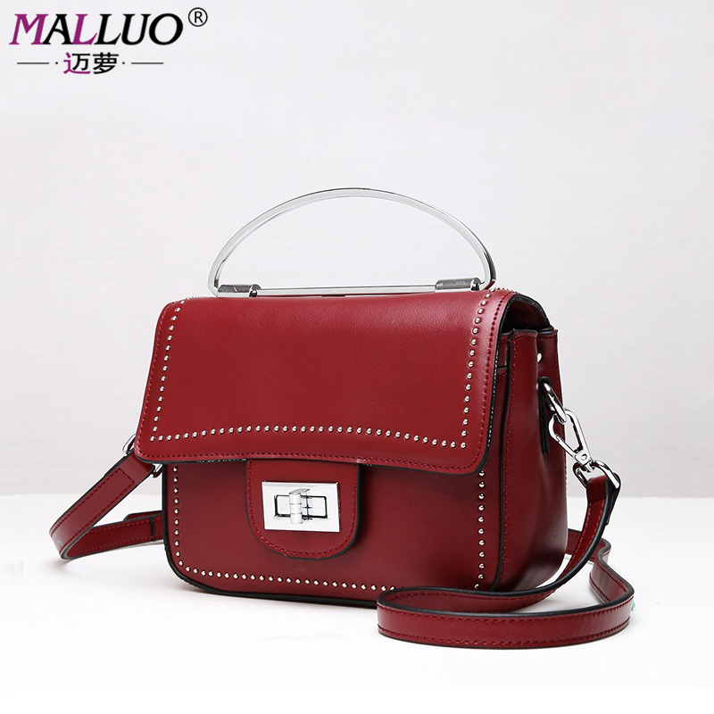 MALLUO Brand Women Messenger Bags Luxury Handbag Women Bags Designer High Quality Women Shoulder Bag Bolsa Feminina High Quality  цена и фото