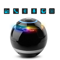 SUPOLOGY Portable LED Luminous Caixa De Som Bluetooth Wireless Speakers Mini Subwoofer With Light Handsfree TF