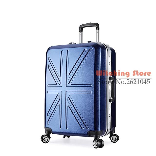 22 INCH  20222426# r of abrasive anti scratch universal wheel rod 20 24 aluminum box check luggage #EC FREE SHIPPING