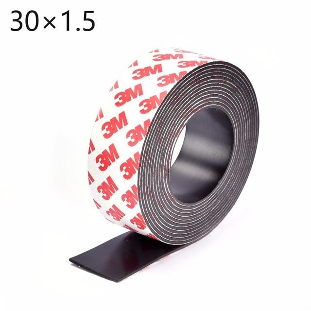 5 m tres auto adh sif flexible bande magn tique 3 m aimant en caoutchouc bande largeur 30mm. Black Bedroom Furniture Sets. Home Design Ideas