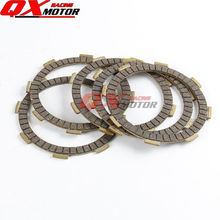 For YINXIANG YX 140 150 160 cc Dirt bike Pit bike Motorcycle Engine Parts Clutch Friction Plates Kit 5pcs Free shipping  yx150 160cc yinxiang engine with light magneto stator rotor kit for chinese horizontal engine dirt pit bike parts free shipping